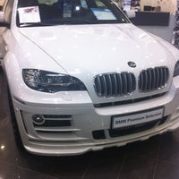 Photo taken at BMW АВТОDOM by Ксения С. on 8/23/2012