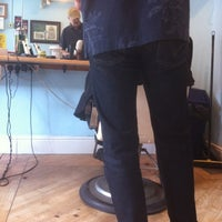 Photo taken at Haggis's Hairdressers by Floydsdad on 7/14/2012