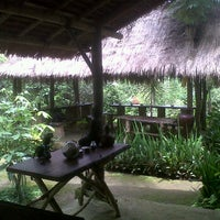 Photo taken at Kubu Bali Agro Tourism by Goddes P. on 3/1/2012