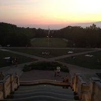 Photo taken at Ault Park by Bill C. on 6/22/2012