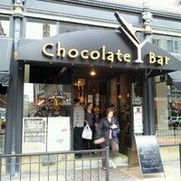 Photo taken at Chocolate Bar by Doug C. on 4/26/2012