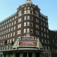 Photo taken at Orpheum Theatre by Mike H. on 8/16/2012