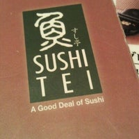 Photo taken at Sushi Tei by JeeKian K. on 4/3/2012