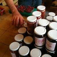 Photo taken at m Foriestier - Fruit Rouge Sur La Marche by Alan J. on 8/16/2012