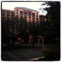 Photo taken at Four Seasons Hotel Austin by J.R. A. on 3/10/2012
