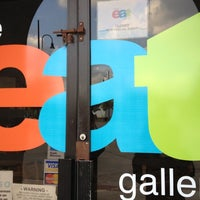 Photo taken at The Eat Gallery by I Am My Billboard -. on 5/26/2012