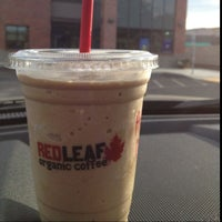 Photo taken at RED LEAF Organic Coffee by Theresa . on 9/9/2012