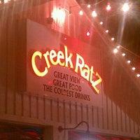 Photo taken at Creek Ratz by Chris I. on 8/10/2012