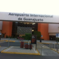 Photo taken at Aeropuerto Internacional de Guanajuato (BJX) by Jesus O. on 3/14/2012