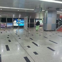 Photo taken at RapidKL KLCC (KJ10) LRT Station by Ivan Ayman U. on 6/9/2012