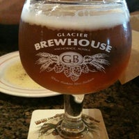 Photo taken at Glacier BrewHouse by Raymond P. on 6/24/2012