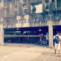 Photo taken at CAC - Centro de Artes e Comunicação by Amanda S. on 3/19/2012