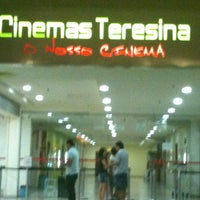 Foto tirada no(a) Cinemas Teresina por Marcelo Moreira A. em 8/11/2012