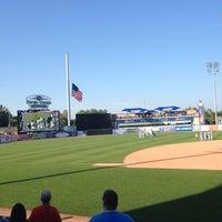 Photo taken at Fifth Third Ballpark by Octavio G. on 7/23/2012