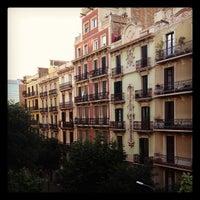 Photo taken at Hostal Central Barcelona by Savannah C. on 6/1/2012