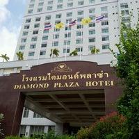 Photo taken at Diamond Plaza Hotel by wanna r. on 5/23/2012
