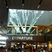 Photo taken at Terminal 1 Departure Hall by Franka K. on 7/21/2012