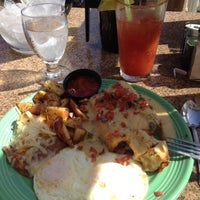 Photo taken at Shades Ocean Front Bistro by Mike F. on 4/28/2012