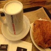 Photo taken at Aroma Espresso Bar by Built F. on 8/22/2012