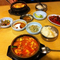 Photo taken at Convoy Tofu House by Robert M. on 3/8/2012