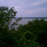 Photo taken at High Cliff State Park by Colin W. on 8/12/2012
