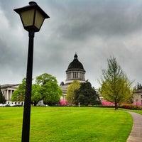 Photo taken at Washington State Capitol by Tuekwe G. on 4/24/2012