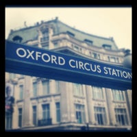 Photo taken at Oxford Circus London Underground Station by Tingo S. on 6/5/2012