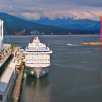 Photo taken at The Fairmont Waterfront by Iain M. on 8/8/2012