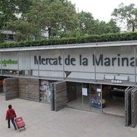 Photo taken at Mercat de la Marina by Jaime S. on 3/1/2012