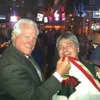 Photo taken at Tom Reid's Hockey City Pub by Jerry A. on 4/8/2012