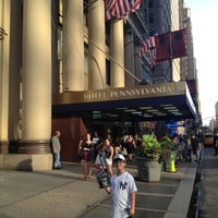 Photo taken at Hotel Pennsylvania by Bruno P. on 7/30/2012