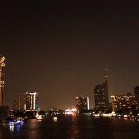 Photo taken at King Taksin Bridge by Surawut T. on 1/4/2012
