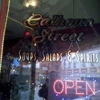 Photo taken at Calhoun St. Soups Salads and Spirits by Scott H. on 12/30/2011