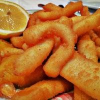 Photo taken at Restaurante Bilibio by Diego S. on 1/21/2012