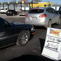 Photo taken at SONIC Drive In by Rocky D. on 3/15/2011