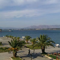 Photo taken at Port of Nafplio by Elena A. on 10/22/2011