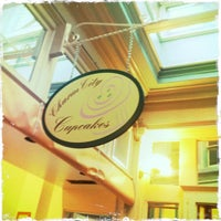 Photo taken at Charm City Cupcakes by Nazaahah A. on 12/15/2011