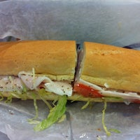 Photo taken at Hero's Submarine Sandwich Shop by Linda A. on 10/26/2011