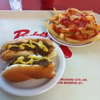 Photo taken at Rudy's Hot Dog by Christopher on 9/1/2012