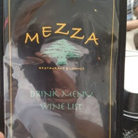 Photo taken at Mezza Restaurant by Al S. on 6/20/2012