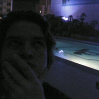Photo taken at Imperial Palace Pool by Nick L. on 1/5/2012