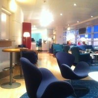 Photo taken at Scandinavian Airlines (SAS) Lounge by elirose on 11/11/2011