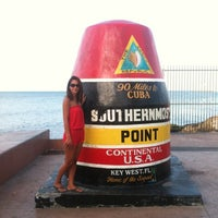 Photo taken at Southernmost Point Buoy by Seda C. on 8/24/2012
