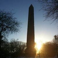 Photo taken at Cleopatra's Needle by James C. on 2/22/2011