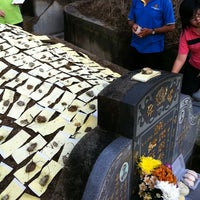 Photo taken at Teluk Bahang United Hokkien Cemetery by Mushi on 3/26/2011