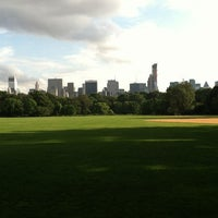 Photo taken at Great Lawn - Central Park by Joe H. on 8/10/2012