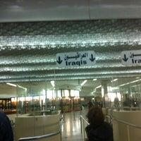 Photo taken at Baghdad International Airport (BGW) by vasfi s. on 3/6/2012