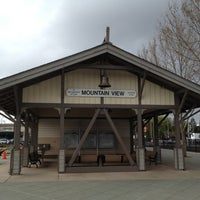 Photo taken at Mountain View Caltrain Station by Martin J. on 3/27/2012