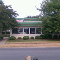 Photo taken at Krispy Kreme Doughnuts by Brian P. on 9/20/2011