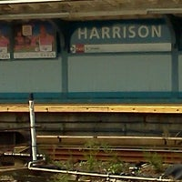 Photo taken at PATH - Harrison Station by Rob 🌱🌻🌼🌞 C. on 9/14/2011